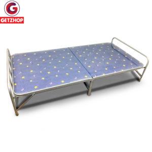 Getzhop เตียงเหล็ก เตียงเสริมพับได้ แบบม...