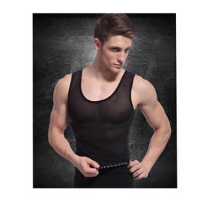 เสื้อกล้าม กระชับสัดส่วน สำหรับผู้ชาย – BB (มี size M, L)