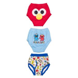 กางเกงในเด็ก Boxer Brief Sesame Street ขนาด 110 CM ( Set 3 ชิ้น )