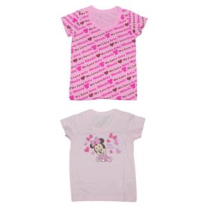 เสื้อผ้าสำหรับเด็ก ลายการ์ตูนมินนี่ Disney ขนาด 80 CM ( 1 เซต มี 2 ชิ้น )