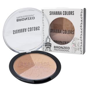 บรอนเซอร์ ไฮไลท์หน้ามีมิติ Sivanna Colors Bronzed Professional No.03