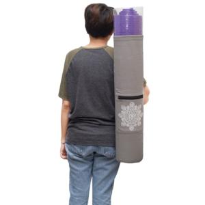Karabada กระเป๋าใส่เสื่อโยคะ รุ่น AMYOKA  (สีเทา)