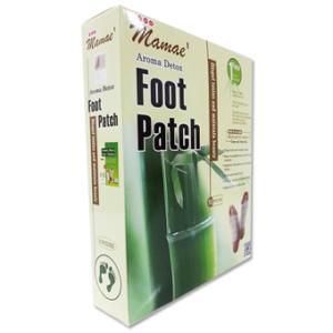 Mamae Aroma Detox Foot Patch แผ่นแปะฝ่าเท้า กำจัดสารพิษ – 1 กล่องมี 5 ซอง