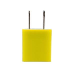 ปลั๊กไฟ  USB – สีเหลือง