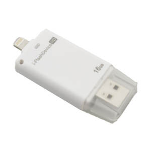 Karabada แฟลชไดรฟ์ i-Flash Device HD (iPod,iPhone,iPad) 16 GB – สีขาว