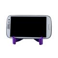 Phone Holder ขาตั้ง ขาหนีบ ที่หนีบมือถือ แท่นวางสมาร์ทโฟน – สีม่วง