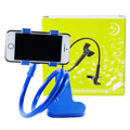Phone Holder ตัวหนีบมือถือ ปรับระดับได้ แบบตั้งโต๊ะ  – สีฟ้า