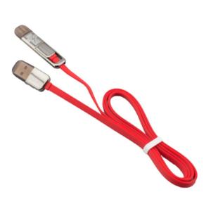 สายชาร์จ สายเคเบิ้ล ไอโฟน ยูเอสบี USB 2 in 1 สำหรับ iPhone6 – สีแดง