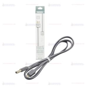 Remax สายชาร์จโทรศัพท์ IPhone 5/5s/6/6Plus Remax ยาว 100 cm. รุ่น RC-008i (White)