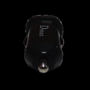 ที่ชาร์จในรถยนตร์ Dimax Smart compact Charger มีช่องเสียบ USB – สีดำ