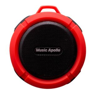 ลำโพงบลูทูธ ลำโพงกันน้ำ Bluetooth Speaker Music Apollo (RR)