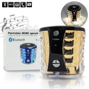 Bluetooth wireless Mobile Wireless Stereo Speaker ลำโพงบลูทูธ รุ่น T-2096A
