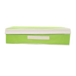 กล่องผ้า กล่องใส่ชุดชั้นใน กล่องเสื้อผ้า ยกทรง กล่องเก็บชั้นใน – สีเขียว