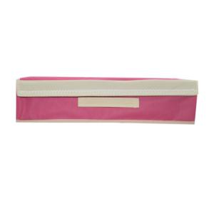กล่องผ้า กล่องใส่ชุดชั้นใน ยกทรง กล่องเก็บชั้นใน – สีชมพู(เข้ม/อ่อน)