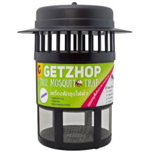 GetZhop Tio2 Mosquito Trap เครื่องดักยุง เครื่องจับยุง – สีดำแถบเขียว