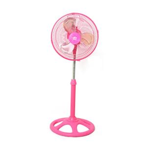 พัดลมตั้งพี้น Fan พัดลมปรับระดับ ขนาด 12 นิ้ว รุ่น HW-EF05P – สีชมพู