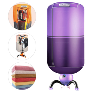 JYMOL ตู้อบผ้า เครื่องอบผ้าแห้ง Clothes dryer อบผ้าร้อน รุ่น JM-Q3 บรรจุ 15 Kg. (สีม่วง2เฉด)