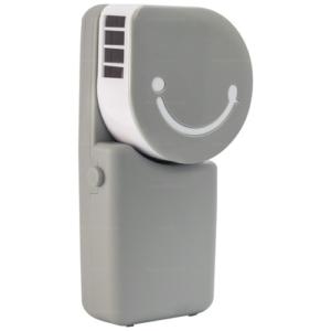 GetZhop พัดลมมือถือ พัดลมแอร์พกพา Hand-held เชื่อมต่อ USB (Grey)
