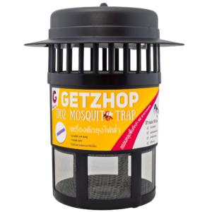 GetZhop Tio2 Mosquito Trap  เครื่องดักยุงไฟฟ้า เครื่องกำจัดยุง ( Black/Yellow )