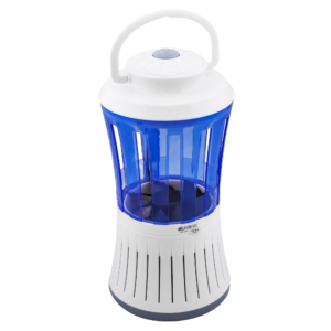 GetZhop เครื่องดักยุงไฟฟ้า Electric mosquito trap ดักยุงและแมลงไฟฟ้า รุ่น KM 385 – สีขาว/ฟ้า