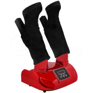 GetZhop เครื่องเป่ารองเท้า เป่าแห้งดับกลิ่นและฆ่าเชื้อ QiaoQiao รุ่น QQ-6633  – สีแดง