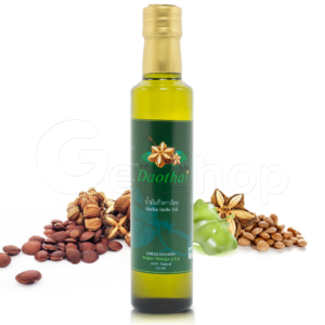 Daothai น้ำมันถั่วดาวอินคา สกัดเย็น Sacha inchi oil
