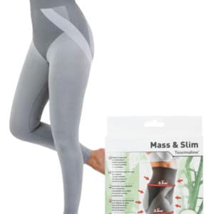 Mass N Slim กางเกงกระชับสัดส่วน แบบขายาว – สีเทา (มี size S, M, L)