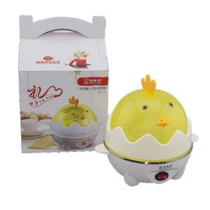 เครื่องต้มไข่ไฟฟ้า ลูกไก่ ยี่ห้อ MiMiXiong รุ่น M7 สีเหลือง