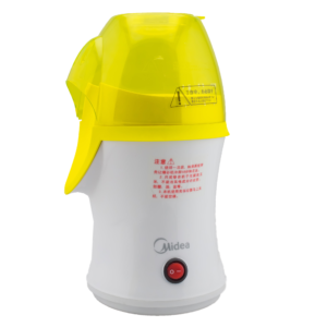 เครื่องทำข้าวโพดคั่ว Popcorn Makers รุ่น PC10MS-AY ยี่ห้อ Midea -สีขาว/เหลือง