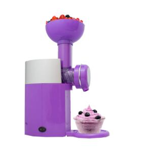 GetZhop เครื่องทำไอศครีม โยเกิร์ตและผลไม้ Swirlio รุ่น Big Boss (Purple) แถมฟรี!! ที่ตักไอศกรีม