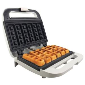 Homemate เครื่องทำวาฟเฟิล วาฟเฟิลแบบแท่ง เครื่องทำวาฟเฟิลสติ๊ก Waffle Maker รุ่น HOM-WS06 (สีขาว)