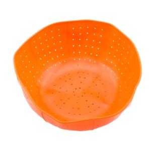 ตะกร้าล้างผัก พับเก็บได้ – สีส้ม
