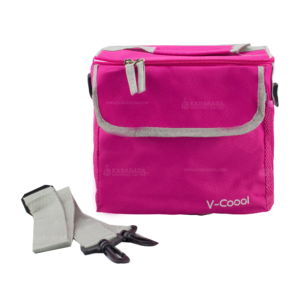 Getzhop กระเป๋าเก็บความร้อน – เก็บความเย็น รุ่น Fashion V-Cool (สีชมพู)