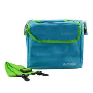 Getzhop กระเป๋าเก็บความร้อน – เก็บความเย็น รุ่น Fashion V-Cool (สีฟ้า)