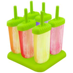 GetZhop แม่พิมพ์ทำไอศครีมแท่ง 6 ช่อง รูป Square – (Green)
