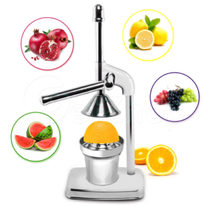 Kitchen Craff เครื่องคั้นน้ำส้ม คั้นน้ำมะนาว คันโยก รุ่น Deluxe Juicer (Stainless 304)