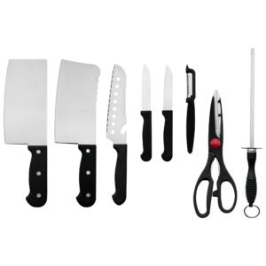 ชุดมีดสแตนเลส Knife Set 8 ชิ้น รุ่น YG-809 (Silver)