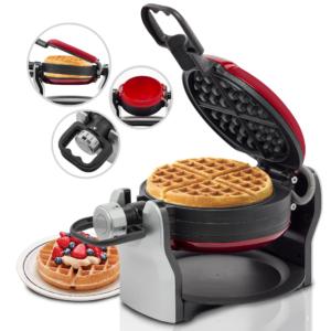 Getzhop เครื่องทำวาฟเฟิล Waffle Maker Eupa แกนหมุน 2 ด้าน