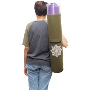 GetZhop กระเป๋าใส่เสื่อโยคะ Yoga Mat Bags รุ่น AMYOKA – (DG)