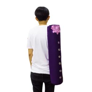 GetZhop กระเป๋าใส่เสื่อโยคะ Yoga Mat Bag (รุ่น AMYOKA) แบบมีรูวงกลม ทรงยาว – (EE)