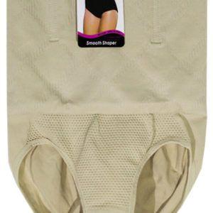 Ailanmeiya กางเกงกระชับสัดส่วน กางเกงสเตย์ กางเกงกระชับสัดส่วน กางเกงในสเตย์เอวสูง Smooth Shaper Ailanmeiya- สีเนื้อ (Size XL,2XL)