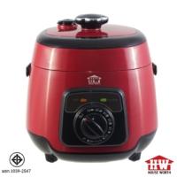 House wort หม้อหุงข้าวอเนกประสงค์ หม้อแรงดัน อุ่น ต้ม ตุ๋น รุ่น HW-PC03 ความจุ 2.5 ลิตร (Red)